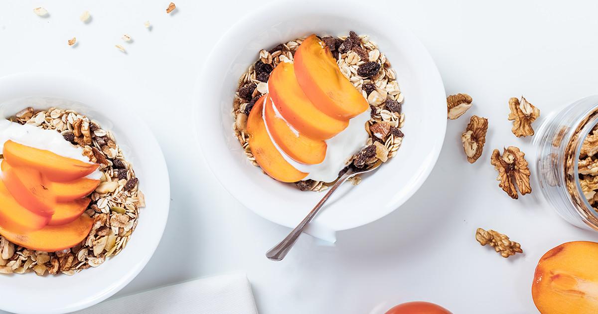 Probiotički jogurt i voće